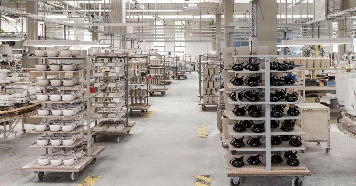 Im Rosenthal Werk sind mehr als hundert Mitarbeiter beschäftigt