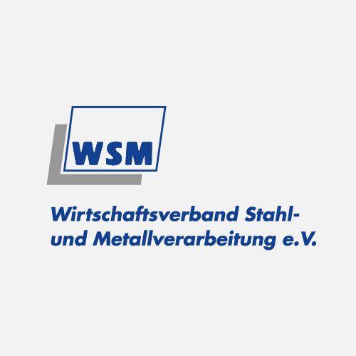 Logo Stahl und Metall grau