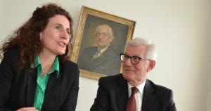 Dillenberg-Geschäftsführerin Kathrin Grüne und Vater Detlev Grüne